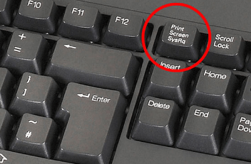 Клавиша Prt Scr на клавиатуре компьютера