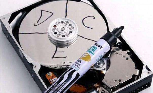 Разделение диска