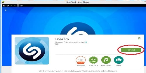 Загрузка Shazam