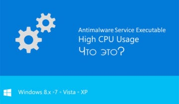 Описание AntiMalware Service Executable