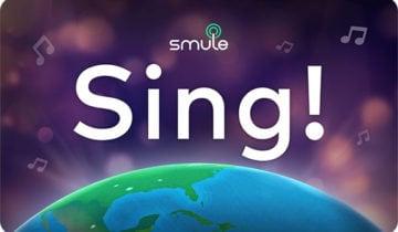 Приложение Smule Sing