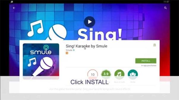 Запускаем Smule Sing на компьютере