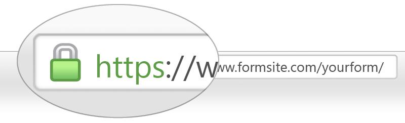 Адрес сайта в браузере с https