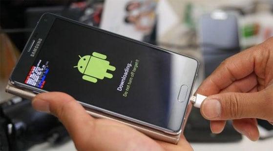 Ошибка в Samsung