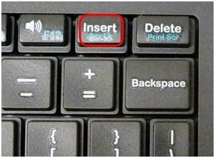 Scroll Lock на ноутбуке
