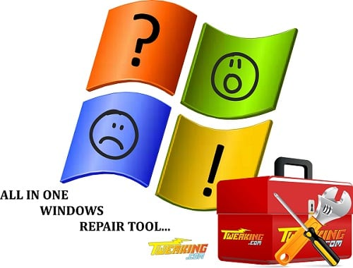 Используем Windows Repair Tool