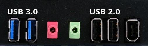 Используем разъём USB 2.0 вместо USB 3.0