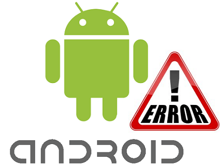 Amdroid error