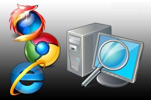 Изображение значков браузеров