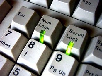 Наша клавиша Num Lock