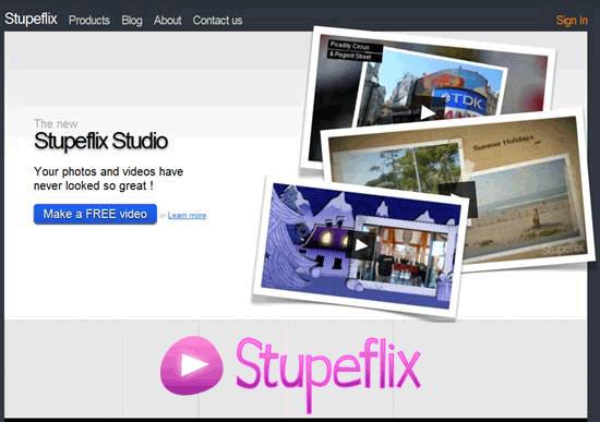 Скриншот Stupeflix