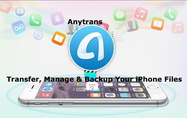 Трансфер контактов с помощью AnyTrans
