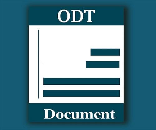 Инструкция, как открыть формат ODT
