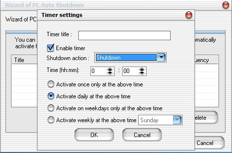 Программа PC Auto Shutdown