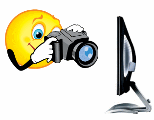 Видеоснимок монитора