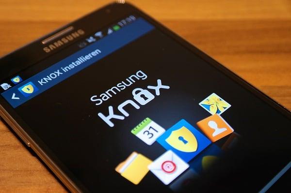 Обзор KNOX от компании Samsung