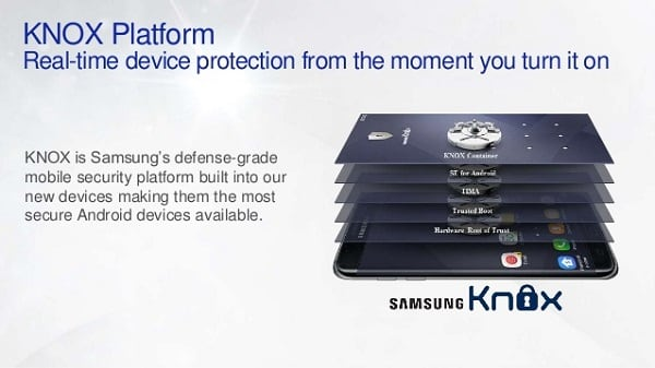 С Samsung KNOX безопасность ваших данных будет под надёжной защитой