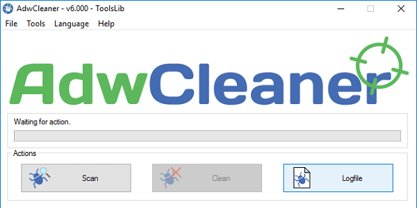 Используем AdwCleaner для борьбы со зловредами