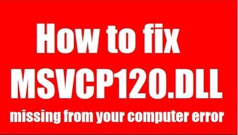 Исправляем ошибку MSVCR120.dll на вашем ПК