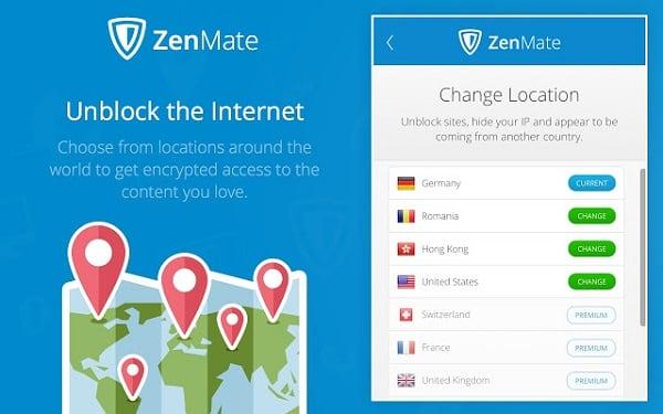 """Расширение """"ZenMate"""" позволит вам обойти блокировку цензоров"""