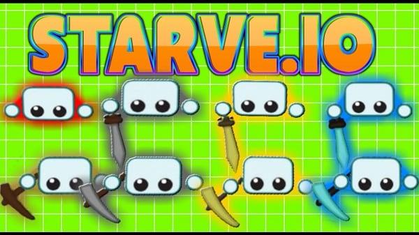 Добейтесь высокого уровня в Starve.io
