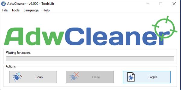 """Используйте """"AdwCleaner"""" для работы со зловредами"""