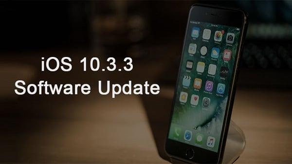 Установите обновление 10.3.3 для вашей iOS