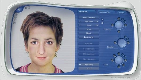 Рабочий экран сервиса morphases.com