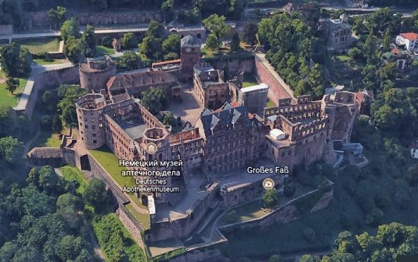 Гейдельбергский замок, Гейдельберг, Германия