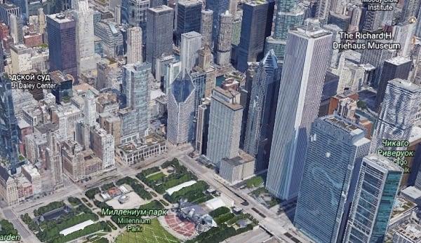 Миллениум-парк, Чикаго, США