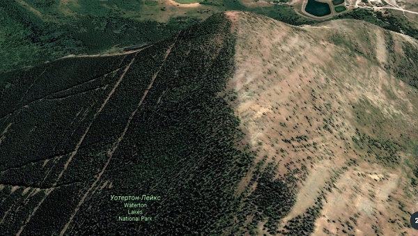 Национальный парк Уотертон-Лейкс