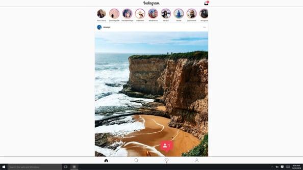 Instagram на Виндовс 10