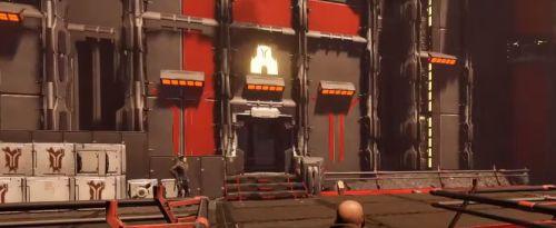 Дверь в храм клириков