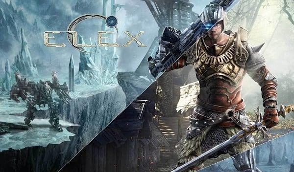 Заставка игры Elex