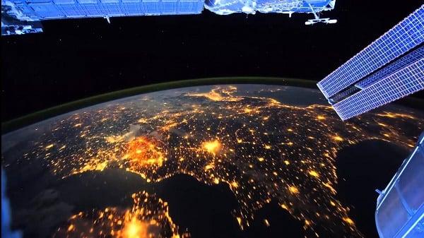 Фото вида со спутника