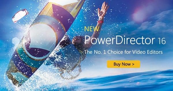 Экран PowerDirector 16