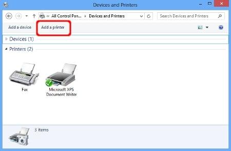 Устанавливаем правильно принтер