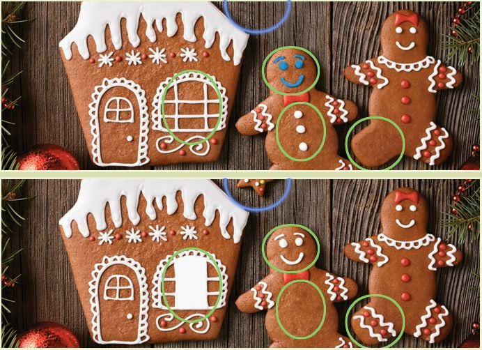 Ищем отличия в печенье