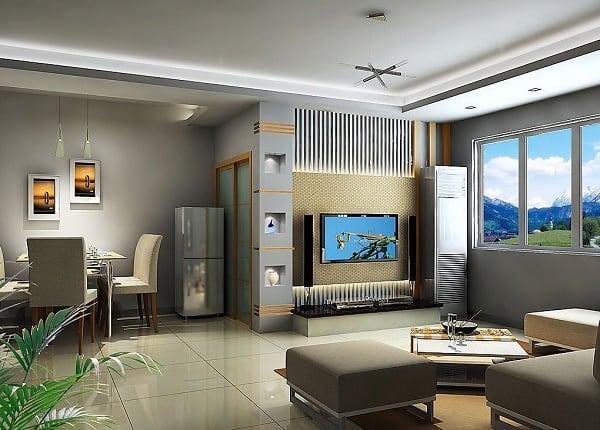 Дизайн квартиры в 3Д