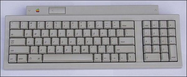 ADB-клавиатура от Эпл