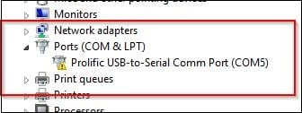 Проблемы с Prolific USB