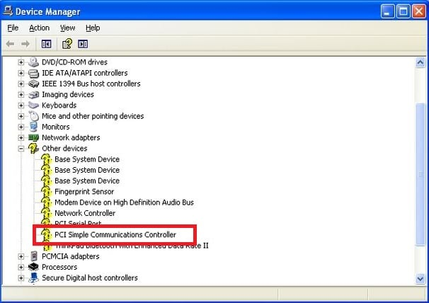 PCI-контроллер в ДУ