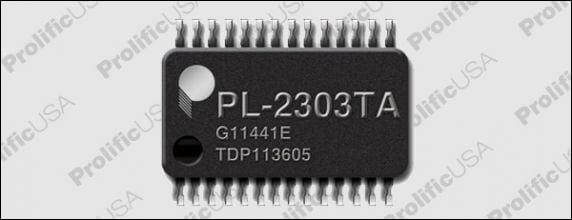 Чип PL-2303TA