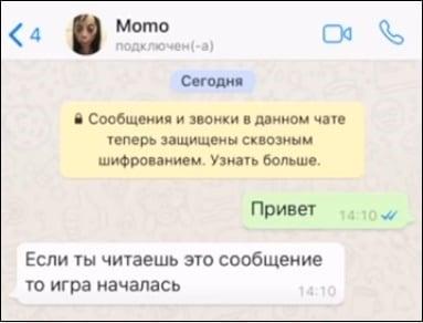 Беседа с Момо