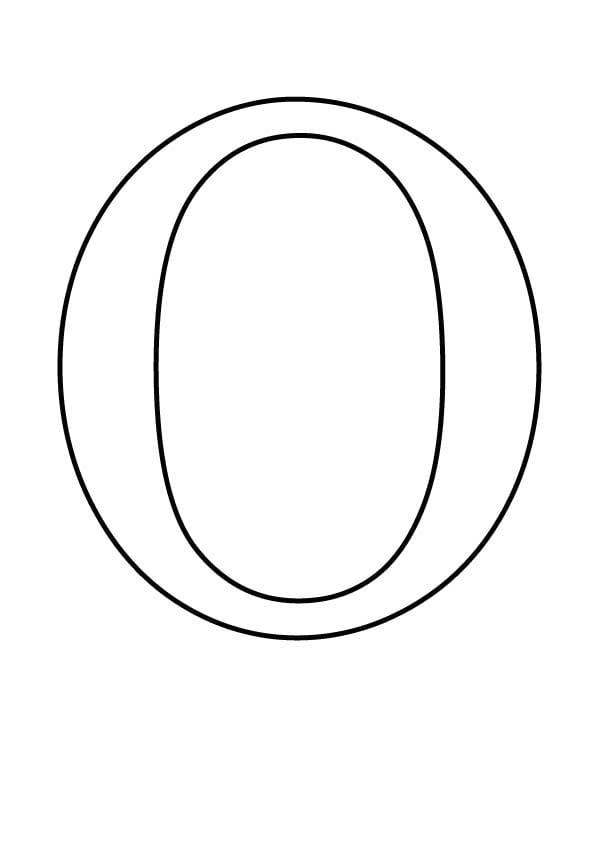 Буква O