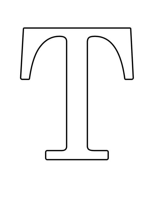 Буква T