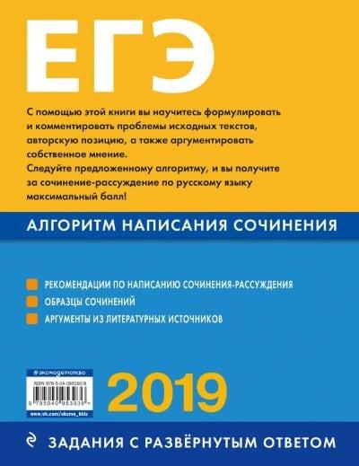 Примеры ЕГЭ 2019. Как писать комментарии к проблеме