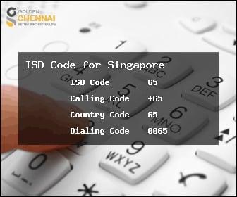 Коды Сингапура