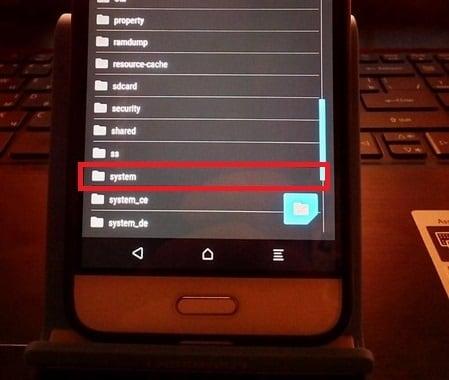 """Папка """"System"""" в проводнике Xiaomi"""