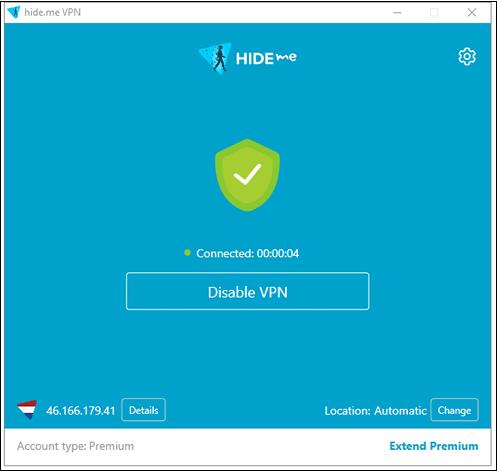 Приложение Hide.me VPN